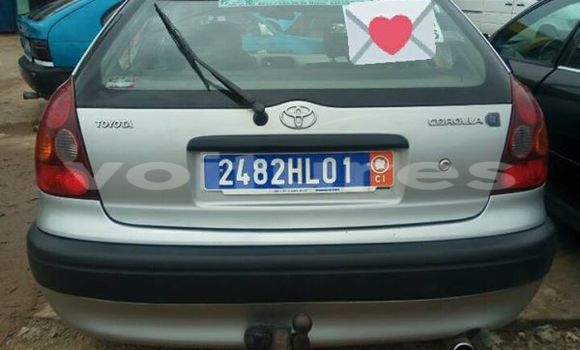 Acheter Voiture Toyota Corolla Gris à Abidjan en Abidjan