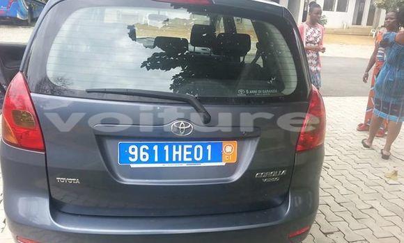 Acheter Voiture Toyota Verso Gris à Abidjan en Abidjan